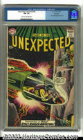 Silver Age (1956-1969):Science Fiction, Tales of the Unexpected #43 Big Apple pedigree (DC, 1959) CGC FN+6.5 Light tan to off-white pages. First Space Ranger cover...