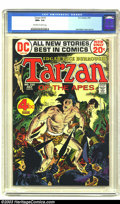 Bronze Age (1970-1979):Miscellaneous, Tarzan of the Apes #210 (DC, 1972) CGC NM+ 9.6 Off-white to whitepages. Joe Kubert cover and art. To date, this is tied wit...
