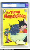 Bronze Age (1970-1979):Cartoon Character, The Three Mouseketeers #1 (DC, 1970) CGC NM 9.4 Off-white pages. When the subject of DC Humor comes up, one name rises to th...