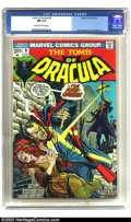 Bronze Age (1970-1979):Horror, Tomb of Dracula #9 (Marvel, 1973 CGC NM 9.4 Off-white to whitepages. Gene Colan's art (along with Vince Colletta) on this t...