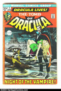 Bronze Age (1970-1979):Horror, Tomb of Dracula Group (Marvel, 1972) Condition: Average VG. Thislot consists of issues #1 and 2. Overstreet 2003 value for ...(Total: 2 Item)