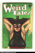"Pulps:Horror, Weird Tales (Pulp) 1933-10 (Popular Fiction, 1933) Condition: GD. Classic Brundage ""bat-woman"" cover. The Ultimate Guide to ..."