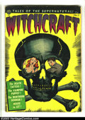 Golden Age (1938-1955):Horror, Witchcraft #2 (Avon, 1952) Condition: VG-. Joe Kubert and Sid Checkart. Centerfold detached at bottom staple. Overstreet 20...
