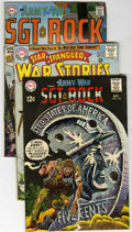 Silver Age (1956-1969):War, Our Army at War Group (DC, 1964-70) Condition: Average VG/FN.... (Total: 7 Comic Books)