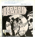 "Original Comic Art:Complete Story, Bob Powell - Original Art for Green Hornet Comics #33, Complete7-page Story, ""Blonde Bomber"" (Harvey, 1946). An alluring la..."