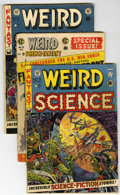 Golden Age (1938-1955):Science Fiction, Weird Science-Fantasy Group (EC, 1951-55) Condition: Average GD....(Total: 15 Comic Books)