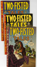 Golden Age (1938-1955):War, Two-Fisted Tales Group (EC, 1951-55) Condition: Average VG....(Total: 12 Comic Books)