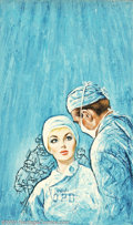 Original Illustration Art:Pulp, Pulp-like, Digests and Paperback Art, Charles Frace' - Original Paperback Cover Art (c.1970).. Published as Nurse in Love.. Acrylic and mixed media on board, ...