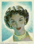 Original Illustration Art:Mainstream Illustration, Edwin A. Georgi (1896-1964) Original Illustration (1950-1960)..Most likely appeared as an advertisement, or magazine cover....