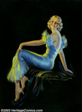 Original Illustration Art:Pin-up and Glamour Art, Q. Wilson Hammell - Original Pin-up / Glamour Art (1925-1930)..Published as a calendar print entitled Adorable, this im...(Total: 4 items Item)