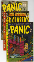Golden Age (1938-1955):Humor, Panic Group (EC, 1954-56) Condition: Average VG.... (Total: 13 Comic Books)