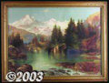 Original Illustration Art:Mainstream Illustration, Thomas Moran (1837-1926) Vintage Print (1896).. Chromolithograph onpaper, framed (22 x 29), sight size 18.5 x 25.5. Printed...