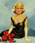 Original Illustration Art:Pin-up and Glamour Art, Walt Otto (1895-1963) Original Pin-up / Glamour Art (c.1950-1955)..Published as a calendar print.. Oil on canvas, approxima...