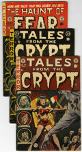 Golden Age (1938-1955):Horror, Tales From the Crypt/Haunt of Fear Group (EC, 1952-54) Condition:Average GD.... (Total: 11 Comic Books)