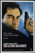 "Movie Posters:James Bond, The Living Daylights (United Artists, 1987). One Sheet (27"" X 41"")Advance. James Bond...."