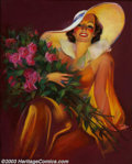 Original Illustration Art:Pin-up and Glamour Art, Laurette Patten - Original Pin-up / Glamour Art (1930-1940)..Published as a calendar print, most likely by the Joseph C. Ho...(Total: 3 items Item)