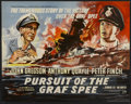 "Movie Posters:War, Pursuit of the Graf Spee (Rank, 1957). British Half Sheet (22"" X28""). War...."