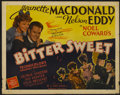 "Movie Posters:Musical, Bitter Sweet (MGM, 1940). Half Sheet (22"" X 28""). Musical...."