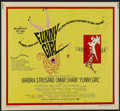 """Movie Posters:Musical, Funny Girl (Columbia, 1968). Half Sheet (22"""" X 28""""). Musical...."""