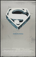 "Movie Posters:Action, Superman the Movie (Warner Brothers, 1978). One Sheet (25.5"" X 40"")Mylar Advance. Action...."