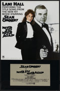 "Movie Posters:James Bond, Never Say Never Again (Warner Brothers, 1983). Music Poster (24"" X36""). James Bond...."