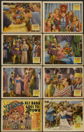 """Movie Posters:Comedy, Ali Baba Goes to Town (20th Century Fox, 1937). Lobby Card Set of 8 (11"""" X 14""""). Comedy...."""