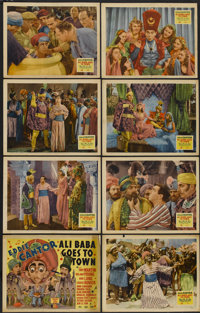"Ali Baba Goes to Town (20th Century Fox, 1937). Lobby Card Set of 8 (11"" X 14""). Comedy"
