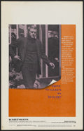 "Movie Posters:Action, Bullitt (Warner Brothers, 1968). Window Card (14"" X 22"").Action...."