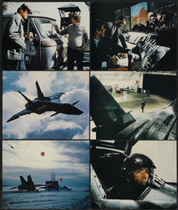 """Firefox (Warner Brothers, 1982). Deluxe Lobby Cards (6) (11"""" X 14""""). Action.... (Total: 6 Items)"""