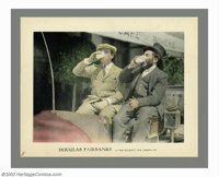 "Fairbanks/Pickford Lobby Cards (United Artists, 1920). Lobby Cards (3) (11"" X 14""). Offered here are three lob..."