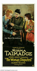 """Movie Posters:Romance, Woman Disputed, The (United Artists, 1928). Three Sheet (41"""" X81""""). This exotic melodrama is the first of three talkies mad..."""