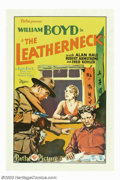 """Movie Posters:War, Leatherneck, The (Pathe', 1929). One Sheet (27"""" X 41""""). Aninteresting film that received an Oscar nomination for bestscree..."""