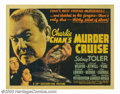 "Movie Posters:Mystery, Charlie Chan's Murder Cruise (20th Century Fox, 1940). Half Sheet (22"" X 28""). While on a cruise ship from Honolulu to San F..."