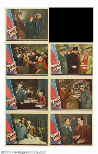 """Scarlet Claw (Universal, 1944). Lobby Cards (7) (11"""" X 14""""). Though not based on any Conan Doyle story, """"..."""
