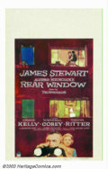 """Movie Posters:Mystery, Rear Window (Paramount, 1954). Window Card (14"""" X 22""""). In this masterful Hitchcock suspense thriller, Jimmy Stewart plays a..."""