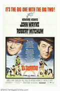 "Movie Posters:Western, El Dorado (Paramount, 1967). One-Sheet (27"" X 41""). John Wayneteams up again with the great Howard Hawks, who directed him ..."