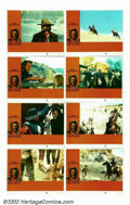 "Movie Posters:Western, Outlaw Josey Wales, The (Warner Brothers, 1976). One Sheet (27"" X41"") and Lobby Card Set (8) (11"" X 14""). Clint Eastwood di...(Total: 9 Movie Posters Item)"