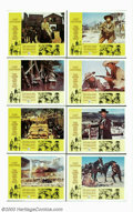 """Movie Posters:Drama, Clint Eastwood Collection, The (Warner Brothers, 1967-1968). Lobby Card Sets (3) (11"""" X 14""""). Director Sergio Leone and acto... (Total: 24 Movie Posters Item)"""