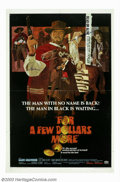 "Movie Posters:Western, For a Few Dollars More (United Artists, 1967). One Sheet (27"" X41""). Ennio Morricone's haunting score accompanies Clint Eas..."