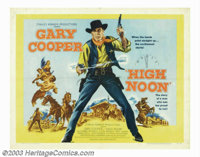 """High Noon (United Artists, 1952). Half Sheet (22"""" X 28""""). What has now become a classic of the genre and a sto..."""