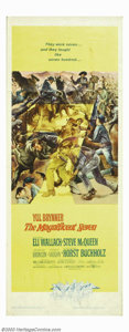 "Movie Posters:Western, Magnificent Seven, The (United Artists, 1960). Insert (14"" X 36"").Based on Akira Kurosawa's ""The Seven Samurai,"" this weste..."