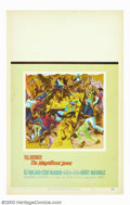 """Movie Posters:Western, Magnificent Seven, The (United Artists, 1960). Window Card (14"""" X22""""). Based on Akira Kurosawa's """"The Seven Samurai,"""" this ..."""