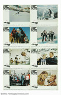 """Movie Posters:Sports, Downhill Racer (Paramount, 1969). Three Sheet (41"""" X 81""""), Lobby Card Set (8) (11"""" X 14""""). Rated by Premier Magazine as one ..."""