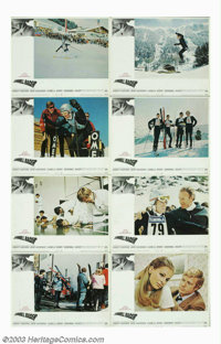 """Downhill Racer (Paramount, 1969). Three Sheet (41"""" X 81""""), Lobby Card Set (8) (11"""" X 14""""). Rated by..."""
