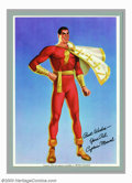 """Movie Posters:Serial, Adventures of Captain Marvel (Republic, 1941). Premium (7"""" X 10"""").When Republic Pictures landed the rights to Fawcett's com..."""