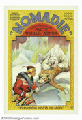 "Movie Posters:Comedy, Nomadie (Independent, 1931). One Sheet (27"" X 41"").This was atravelogue and documentary about Norway, Sweden and Germany. A..."