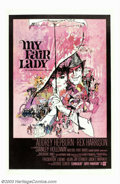 "Movie Posters:Comedy, My Fair Lady (Warner Brothers, 1964). One Sheet (27"" X 41""). GeorgeCukor's classic musical retelling of George Bernard Shaw..."