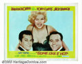 "Movie Posters:Comedy, Some Like It Hot (United Artists, 1959). Lobby Card (11"" X 14"").Offered here is the best card of the set from this Billy Wi..."