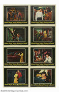 """Movie Posters:Drama, Rebel Without a Cause (Warner Brothers, 1955). Lobby Card Set (8) (11"""" X 14""""). The seminal James Dean classic, this card set... (Total: 8 Movie Posters Item)"""