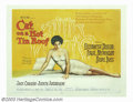 "Movie Posters:Drama, Cat on a Hot Tin Roof (MGM, 1958). Half Sheet (22"" X 28""). Elizabeth Taylor and Paul Newman heat up the screen in this dynam..."